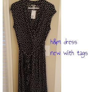 NWT h&m Wrap Dress